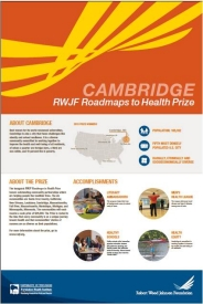 Cambridge RWJF Roadmaps to Health Prize poster