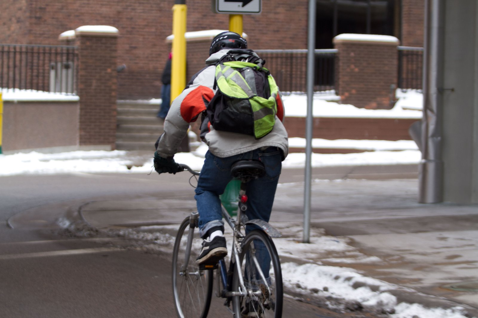 Minneapolis is designed with bikeways and paths to encourage active transportation, including biking and walking.