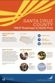 Santa Cruz County Roadmaps Poster