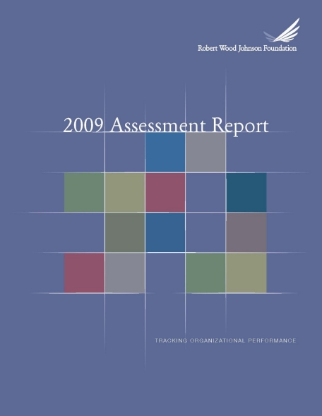 RWJF 2009 Assessment Report