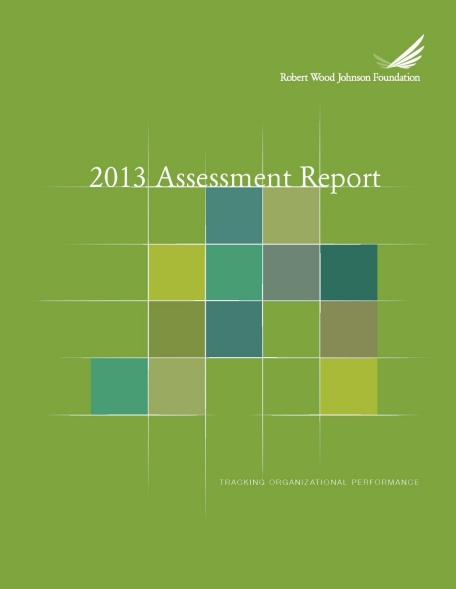 2013 RWJF Assessment Report