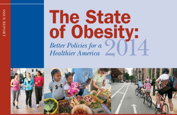 The State of Obesity 2014 Report Cover