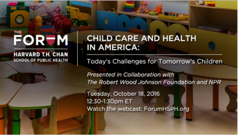 Child Care and Health in America Webinar