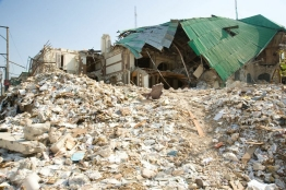Destruction from Haiti Earthquake