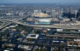 New Orleans, flooded after Hurricane Katrina. Photo courtesy Ross Mayfield.