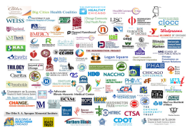 Healthy Chicago's many cross-sector partnerships