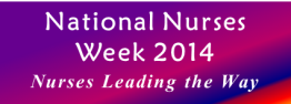 National Nurses Week Blog Logo