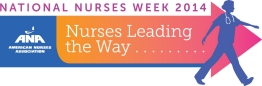 2014 National Nurses Week Official Logo