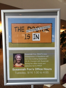 Susannah Fox offers office hours at RWJF