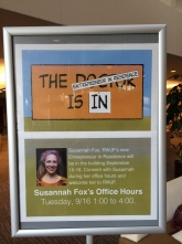 Susannah Fox offers office hours at RWJF.