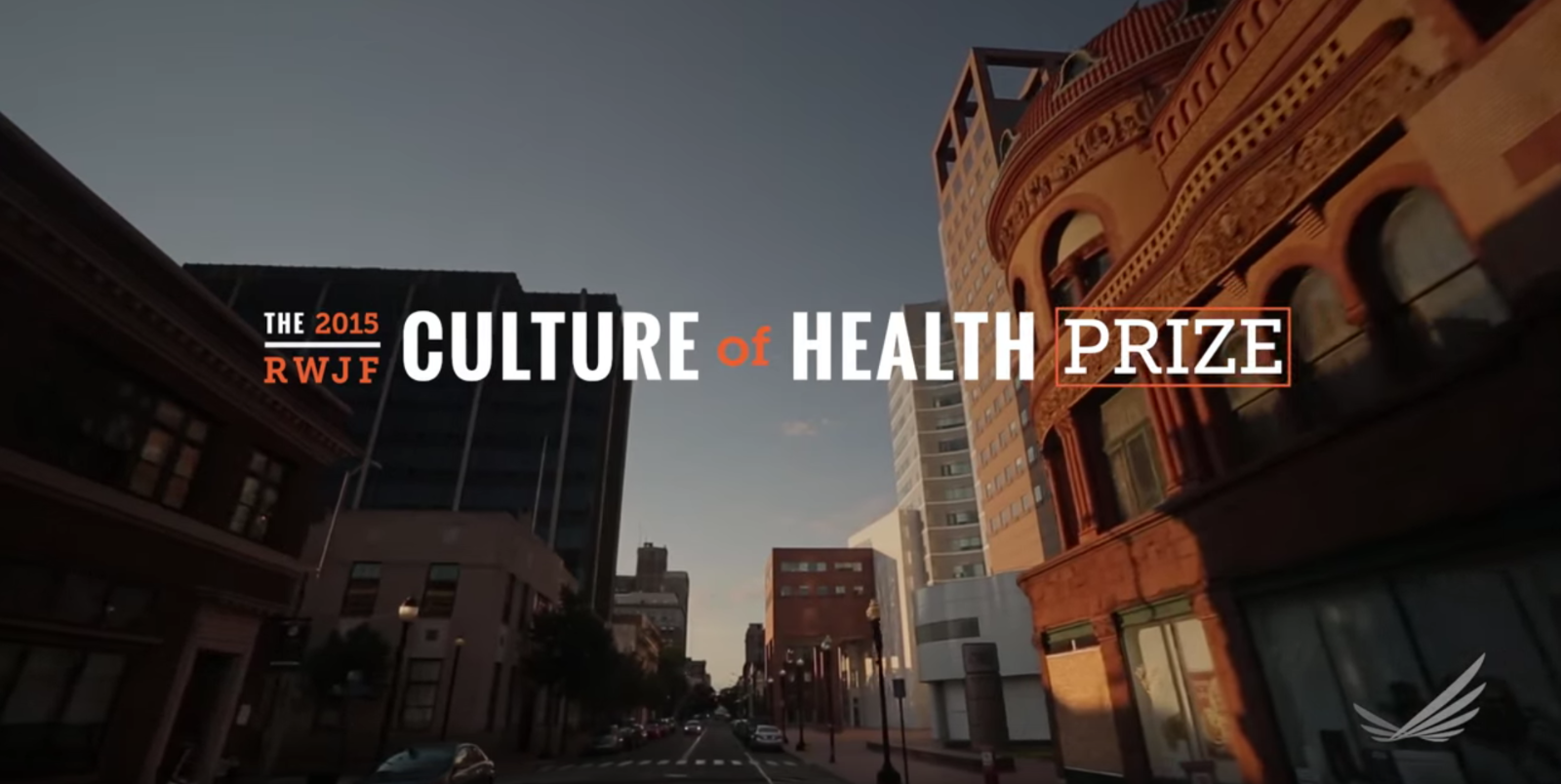 2015 RWJF Culture of Health Prize video