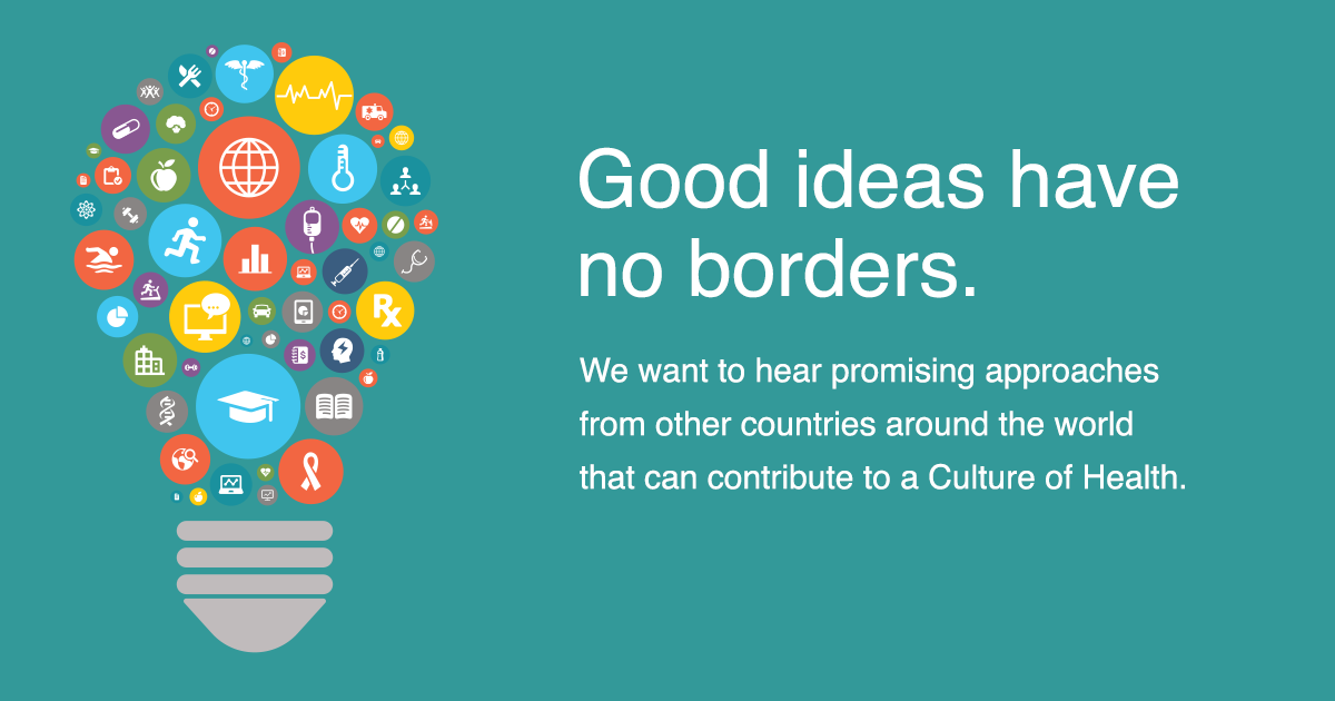 Global Ideas for U.S. Solutions social image. Good ideas have no borders.