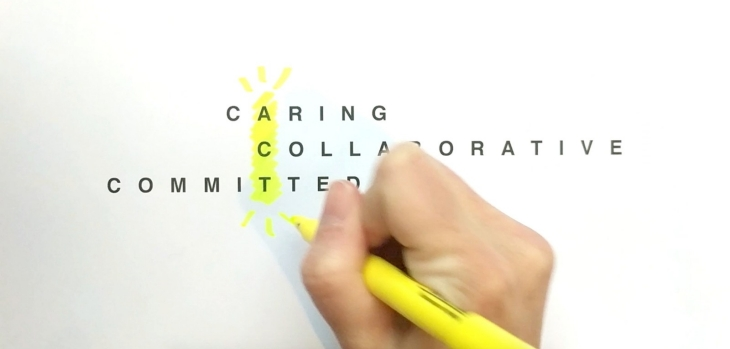 Caring Collaborative Committed: Three traits of visionary leaders
