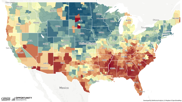 Opportunity Atlas: Data Maps the Impact of Where a Child Grows Up - on