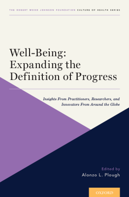 Well-Being: Expanding the Definition of Progress cover art