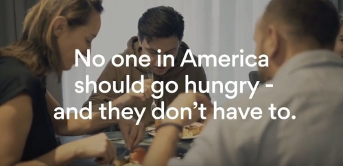 No one in America should go hunry.