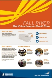 Fall River RWJF Roadmaps to Health Prize poster