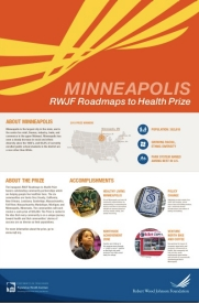 Minneapolis RWJF Roadmaps to Health Prize poster