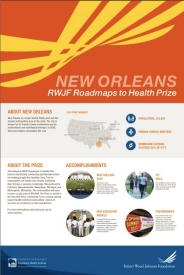 New Orleans Roadmaps Poster
