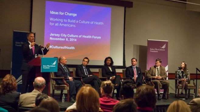 Panel discussion at NJ Culture of Health Forum, November 6, 2014.