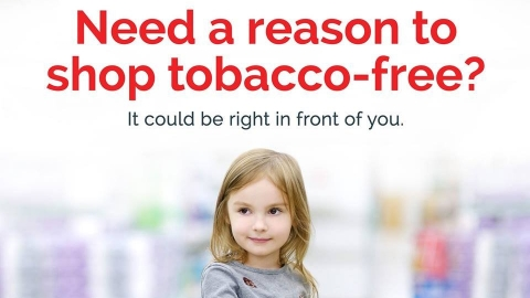 Graphic for new tobacco-free store website