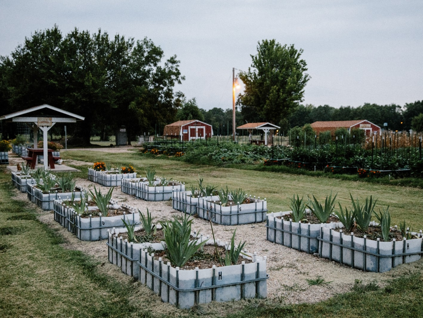 Allen County, Kansas - Elk Creek Community Garden.