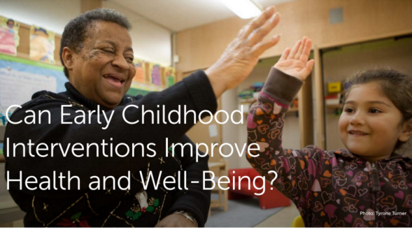 Header: Can early childhood interventions improve health and well-being?